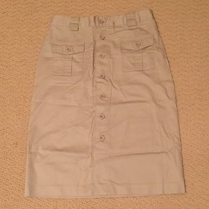 Gap Khakis Skirt